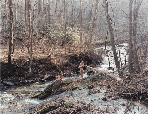 JUSTINE KURLAND Two Mothers Looking Down, River Confluence