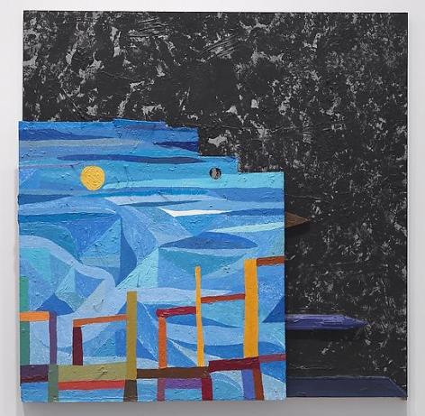 CHRIS JOHANSON Universal Window Painting #1