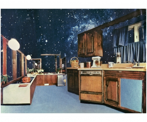 MARTHA ROSLER Cosmic Kitchen II, from the seriesHouse Beautiful: The Colonies