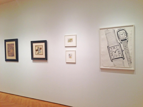 Master Drawings Installation view at Mitchell-Innes & Nash, NY, 2015