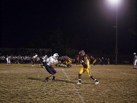 CATHERINE OPIE Football Landscape #1 (Fairfax vs. Marshall, Los Angeles, CA)