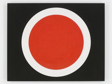 ALEXANDER LIBERMAN Black and Red Circle