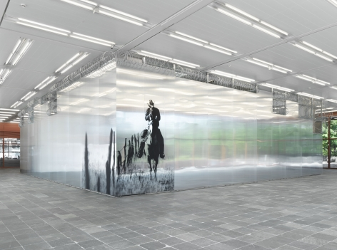 MONICA BONVICINI Installation view of I CANNOT HIDE MY ANGER at the Belvedere 21, 2019