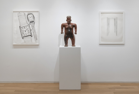 Modern Drawings/Ancient Sculptures