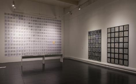 MARTHA ROSLER Installation view ofSi tú vivieras aquí: If you lived hereat Museo de Arte Contemporáneo, Santiago de Chile (MAC), 2019
