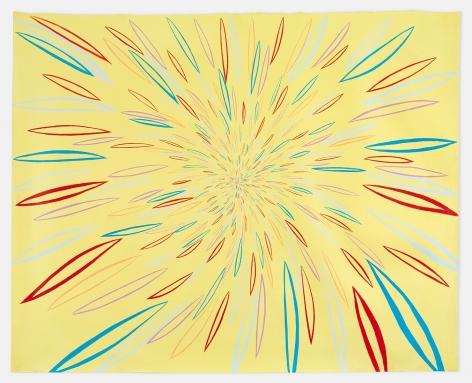CHRIS JOHANSON  Energy Burst (Yellow)  2018