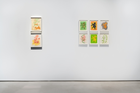 GENERAL IDEA Installation view of P is for Poodleat Mitchell-Innes & Nash, New York, 2020