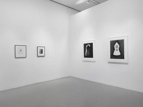 JAY DEFEO Installation view at Mitchell-Innes & Nash, NY, 2014