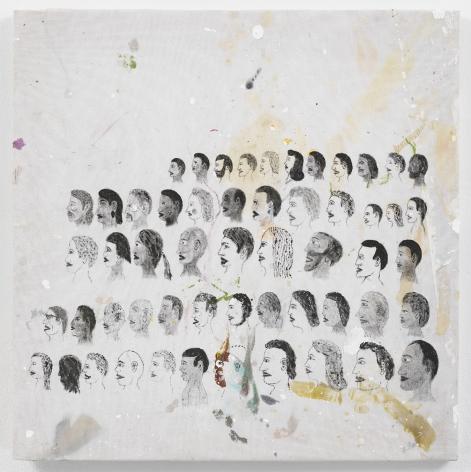 CHRIS JOHANSON Individuality (Faces) 2019