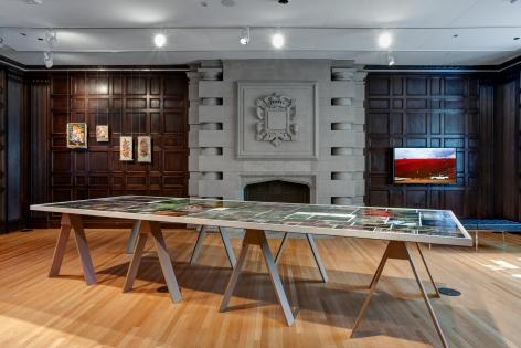 Installation view ofPassionate Signalsat The Neubauer Collegium for Culture and Society in Chicago, Illinois, 2019