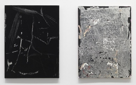 December Installation view at Mitchell-Innes & Nash, NY, 2012