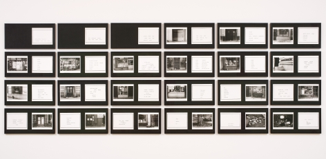 MARTHA ROSLER The Bowery in two inadequate descriptive systems