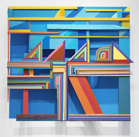 CHRIS JOHANSON Window Painting #1