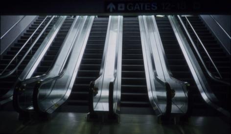 Martha Rosler Dallas or Los Angeles Airport 1991