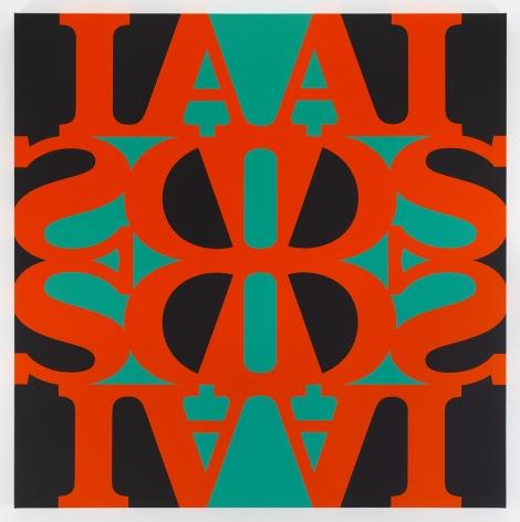GENERAL IDEA Great AIDS (Pyrolle Orange) 1990/2019