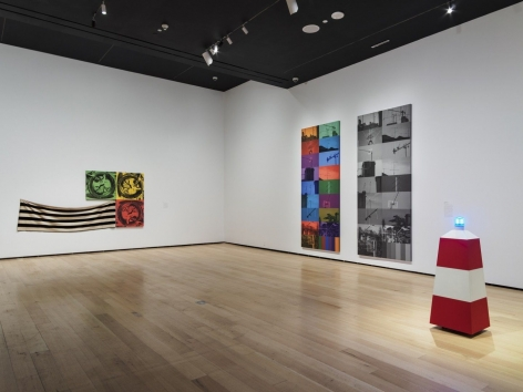 ANNETTE LEMIEUX Installation view of Mis en Scène at Museum of Fine Arts, Boston, MA, 2018