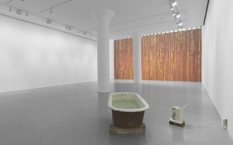 VIRGINIA OVERTON Installation view at Mitchell-Innes & Nash, NY, 2013