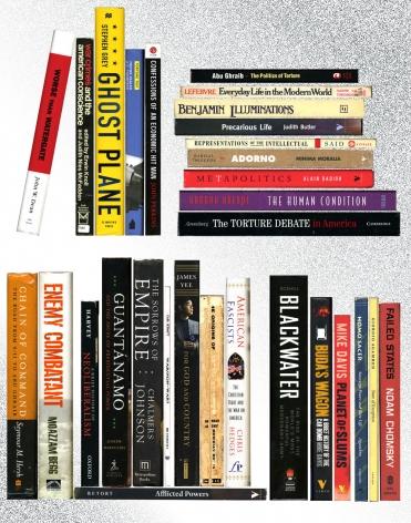 MARTHA ROSLER Off the Shelf: War and Empire