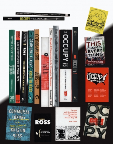 Martha Rosler Off the Shelf Occupy 2018