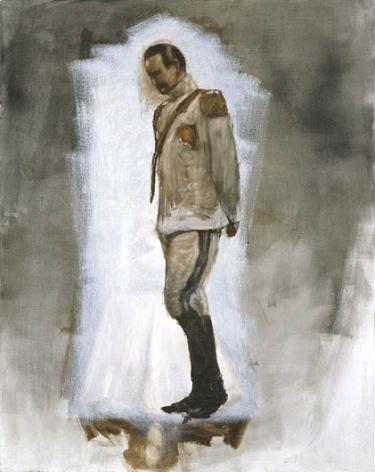 AXEL GEIS Mann mit leicht angewinkeltem Bein