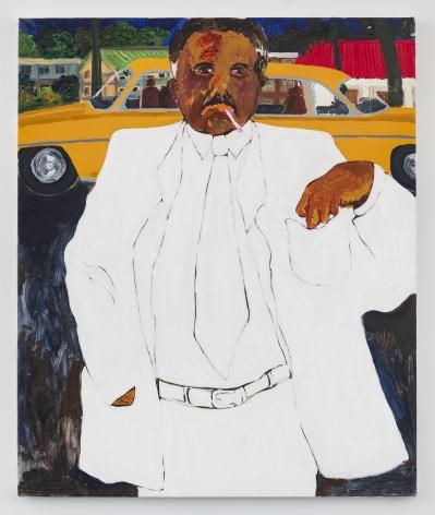 GIDEON APPAH  Portrait of an Elderly Man  2020