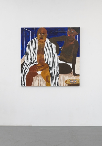 GIDEON APPAH  Portrait of a Lover and His Concubine  2020