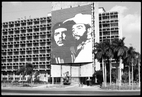 MARTHA ROSLER Plaza de Revolucion, Havana