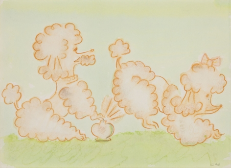 GENERAL IDEA  Untitled [Two Poodles with Atomizer]  1990