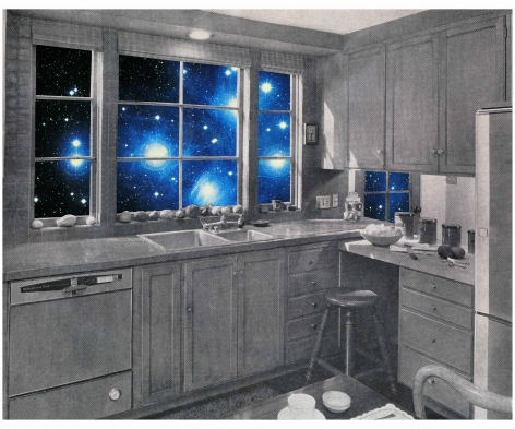 MARTHA ROSLER Cosmic Kitchen I, from the seriesHouse Beautiful: The Colonies