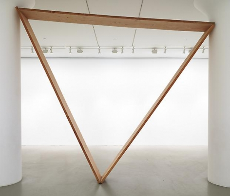 VIRGINIA OVERTON Untitled(Triangle)