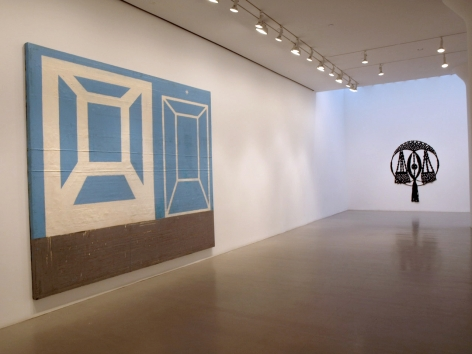 ANTHONY CARO, ALLAN D'ARCANGELO, JACK GOLDSTEIN, CHRIS MARTIN, WILLIAM POPE.L AND AMANDA ROSS-HO
