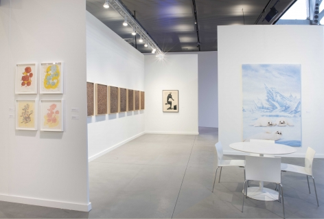 Installation view of Mitchell-Innes & Nash at Frieze New York, New York, 2021