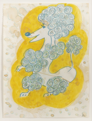GENERAL IDEA  Untitled (Poodle) [Drawing #260]  1990