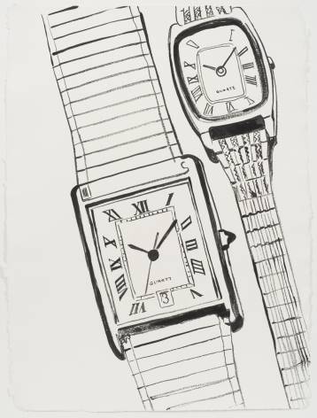 ANDY WARHOL Two Quartz Watches