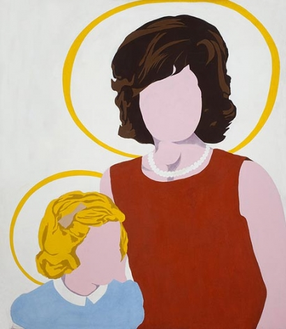 ALLAN D'ARCANGELO Madonna and Child