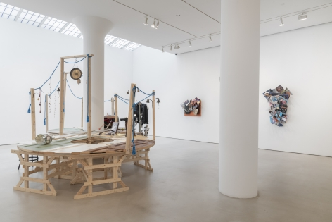 MARTIN KERSELS Installation view of Cover Story at Mitchell-Innes & Nash, New York, 2019