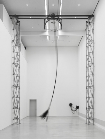 MONICA BONVICINI installation view of 3612,54 m³ vs 0,05 m³ at Berlinische Galerie, Berlin, 2017