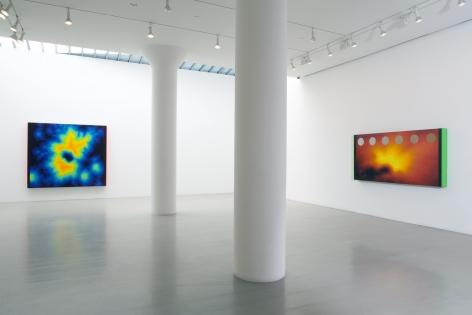JACK GOLDSTEIN Installation view at Mitchell-Innes & Nash, NY, 2008