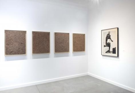 Installation view of Mitchell-Innes & Nash in Frieze New York, New York, 2021