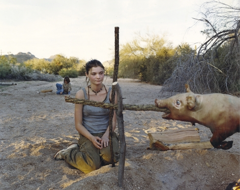 JUSTINE KURLAND The Pig Roast