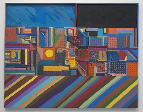 CHRIS JOHANSON Window Painting #3