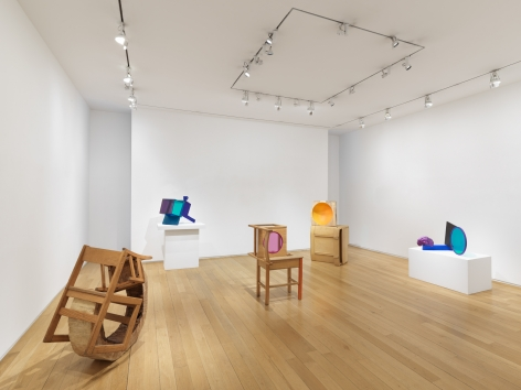 SARAH BRAMAN Installation view of Growth at Mitchell-Innes & Nash, New York, 2019