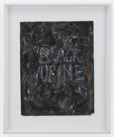 POPE.L Black Urine