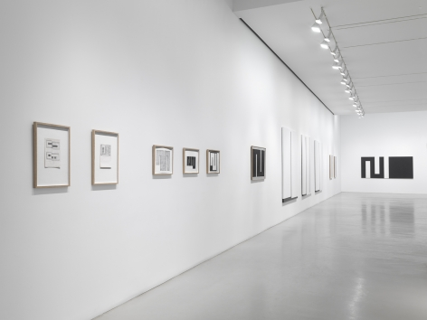 Installation view at Mitchell-Innes & Nash
