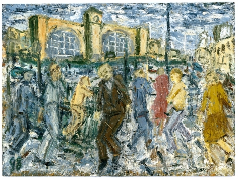 LEON KOSSOFF Kings Cross, March Afternoon
