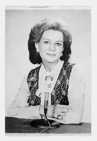 KARL HAENDEL No Title (Barbara Walters)