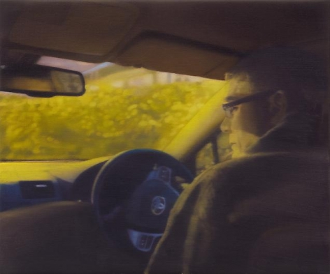 PAUL WINSTANLEY Man Watching From a Car