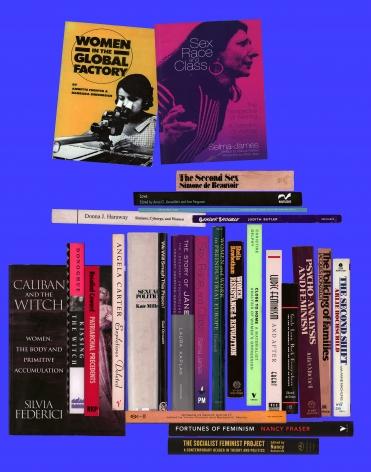 Martha Rosler Off the Shelf Women 2018