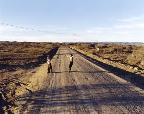 JUSTINE KURLAND Broadway (Highway 10, Arizona) 2001