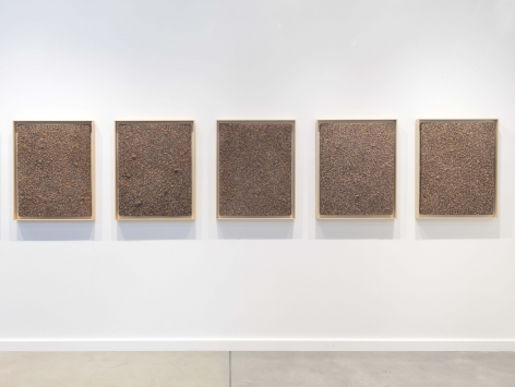 Installation view of Mitchell-Innes & Nash atFrieze New York, New York, 2021
